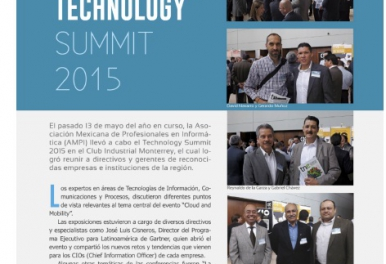 AMPI TECHNOLOGY SUMMIT 2015